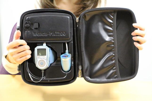 睡眠時無呼吸症候群 携帯型検査装置「ウォッチパット」の中身