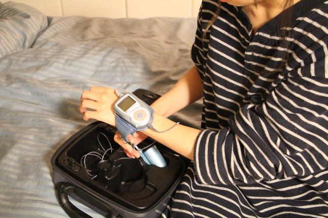 睡眠時無呼吸症候群 携帯型検査装置「ウォッチパット」